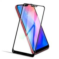 Tempered Glass Full Lem Xiaomi Mi 8 Lite Anti Gores Kaca Warna