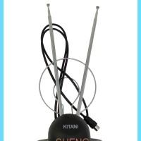 Antena TV Indoor Portable Model Panjang/ Model V
