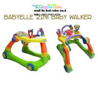 (Baby Club Itc Bsd) Walker Babyelle 2in1
