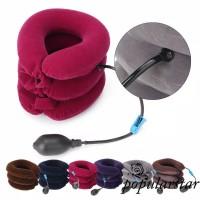 Bantal leher terapi neck 3 tingkat / Tractors for Cervical Spine warna