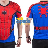 kaos spiderman homecoming,kaos superhero spider-man civil war (spade)
