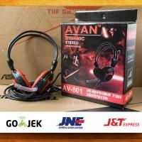 Headset Avan Dynamic AV-801 Stereo - Headphone Computer