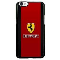 Ferrari Logo Red Carbon L1959 Casing Custome OPPO F3