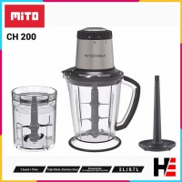 MiTO Food Chopper Blender CH-200 Mitochiba CH 200 Bumbu dan Daging