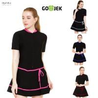 Baju renang wanita diving rok , baju renang dewasa EDORASPORT m-xxl