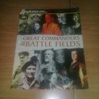 majalah edisi koleksi angkasa great commanders of the battle fields