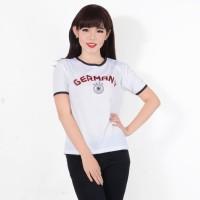Baju T Shirt Kaos Bola Piala Dunia Murah Wanita Terbaru R