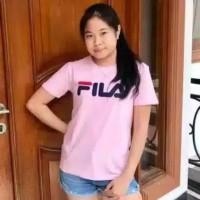 Kaos murah wanita BAJU KATUN FILA/FILA Tee /KAOS FILA LENGAN PENDEK 5