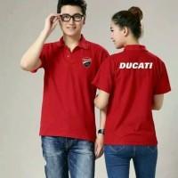 t-shirt polo baju kerah DUCATI caple