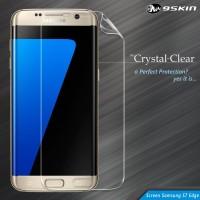 9Skin Crystal Clear CC FULL Screen Guard Samsung S7 Edge - 1 Side