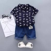 setelan baju bayi boy prince donker keren