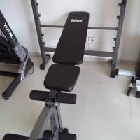 Bangku situp | papan sit up | bench press murah + stik olimpia 5cm