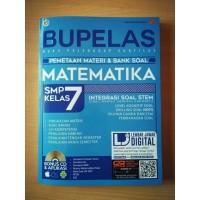 Bupelas Pemetaan Materi & Bank Soal Matematika SMP Kelas 7