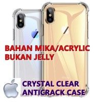 IPhone 6/6+/7/8/7+/8+/X/XS/XR/XS MAX - Crystal Clear Anticrack Case