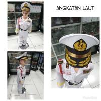 Seragam TNI AL/tentara/angkatan laut/baju anak