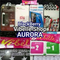 Tempered Glass BlackBerry Aurora Screen Guard AntiGores Kaca BB Aurora