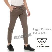 Emoline - Celana Jogger Chino Pants Panjang Premium
