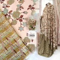 Mukena Batik Katun Rayon Premium Murah Dewasa Jumbo Arumi
