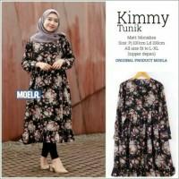 Baju Atasan Wanita Blouse Tunik All Model Muslimah Original Moela
