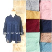 atasan jumbo / baju bigsize / blus besar / atasan kebaya XL XXL XXXL