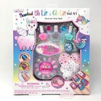 Kutek dan Nail Art Anak Llama Scented Blitz & Glitz Nail Art HOT FOCUS