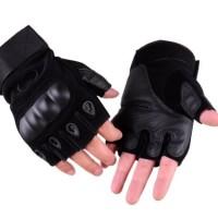 Sarung Tangan Motor Oakley Setengah Jari Tactical Gloves