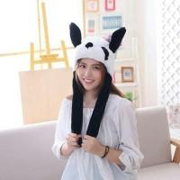 Plush TWICE Kpop Blackpink Love Cute Panda Ear Wiggle Hat Cap