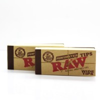 Jual Rolling Tips Raw Perforated + Tbk Strawberry Mint 3gr