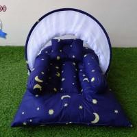 Kasur Bayi Lipat Kelambu - Tempat Tidur Bayi Motif KBLK290