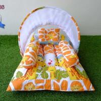 Kasur Bayi Lipat Kelambu - Tempat Tidur Bayi Motif KBLK286
