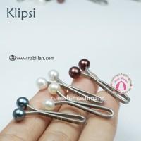 Klip turki KLIPSI hijab clip peniti jilbab jepit turki aksesoris hijab