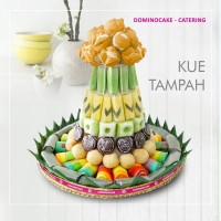 Kue Tampah - Kue Tradisional - Kue Basah 134 pcs - Dominocake