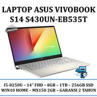 ASUS VIVOBOOK S14 S430UN-EB535T - i5-8250u/8GB/1TB/SSD256/MX150/WIN10