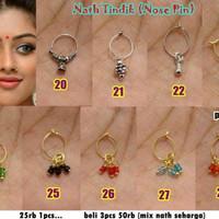 Nath Tindik / Nose Pin / Anting Hidung India