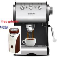 Donlim DL-KF500S Coffee Maker Machine Espresso 20 Bar Free Grinder