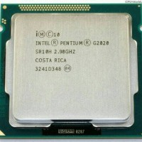 Processor Intel G2020 Tray   Fan Original Dual Core LGA 1155