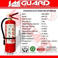 APAR 3kg Dry Powder Alat Pemadam Api Ringan Untuk Rumah Kantor JMGUARD