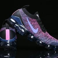 Sepatu Nike Air Vapormax 3 Flyknit 2019 Black Purple Premium Original