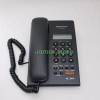 Telepon Kantor/Telepon Rumah/Telepon Kabel Panasonic KX-T7705 Black