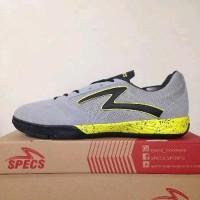 Sepatu futsal specs murah Metasala Rival Grey stabilo black B12sb1993