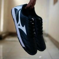 Sepatu Futsal Mizuno Monarcida Neo Hitam list Putih Grade Or B12sb1949