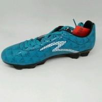 sepatu bola specs murah Quark FG Warna Cocktail blue origina B12sb1991