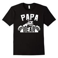 Kaos t shirt diatro PAPA BEAR murah keren.
