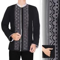 Atasan Kemeja Bayu Baju Muslim Koko Lengan Panjang Pria Casual Trendy