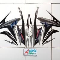 Striping Stiker Motor Honda Vario Techno Iss FI 125 2014 Mattebrown