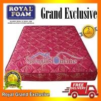 Kasur Busa Royal Foam Grand Exclusive 160 x 200 Tebal 18 Cm Grs 5 Thn
