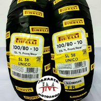 Ban Pirelli SL38 UNICO 100 80 Ring 10 For Vespa S LS LX Piagio