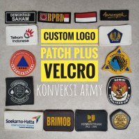 Patch logo karet Custom