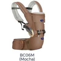 [X-BC06M] - PROMO BABY HIP SEAT GENDONGAN BAYI BABY SAFE - MOCHA