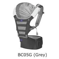[X-BC05G] - PROMO BABY HIP SEAT GENDONGAN BAYI BABY SAFE - GREY